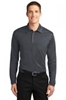 MLK540LS-SPG - Men's Long Sleeve Performance Polo 100% poly Moisture Wicking