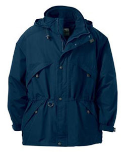 MLJA88007-MCR-3 IN 1 JACKET PARKA WITH  DOBBY TRIM