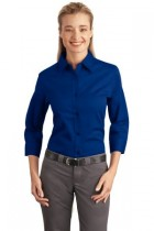 LHP612 -DDG- 3/4 LENGTH SLEEVE BUTTON UP SIZES XS-4XL