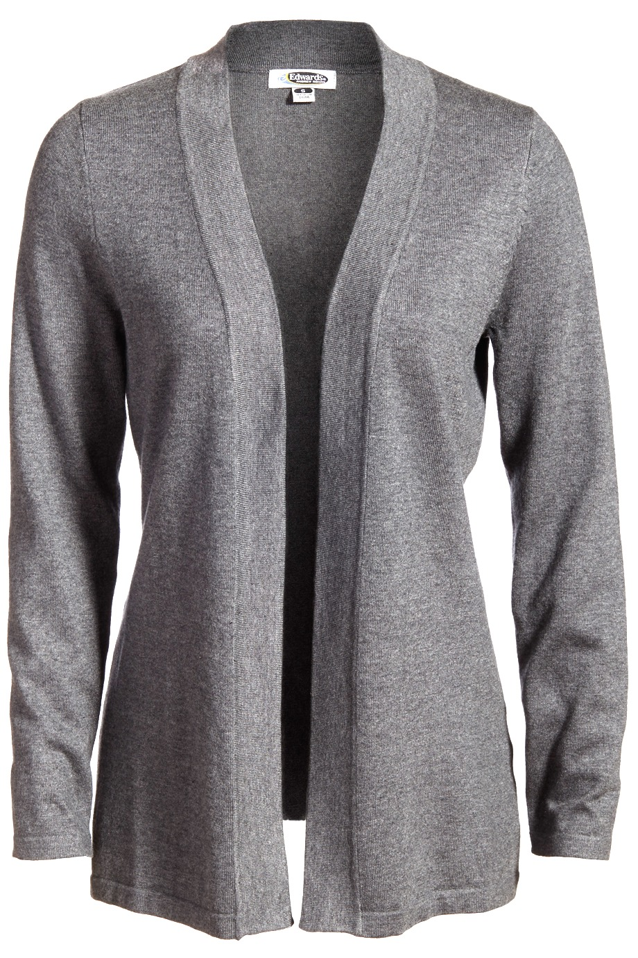 LLE7056-Open cardigan has a flattering silhouette with a smooth and easy drape