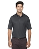 MHA85120 - SPG - North End Excursion Crosscheck Performance Woven Polo - MHA85120-SPG-SM-