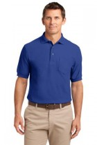 MHK500- FKEY- Menss Silk Touch Polo