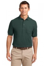 MHK500P- DDG- Menss Silk Touch Polo with Pocket