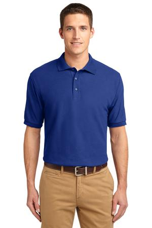 MHK500TL- FKEY - Mens Tall Sizes Silk Touch Polo