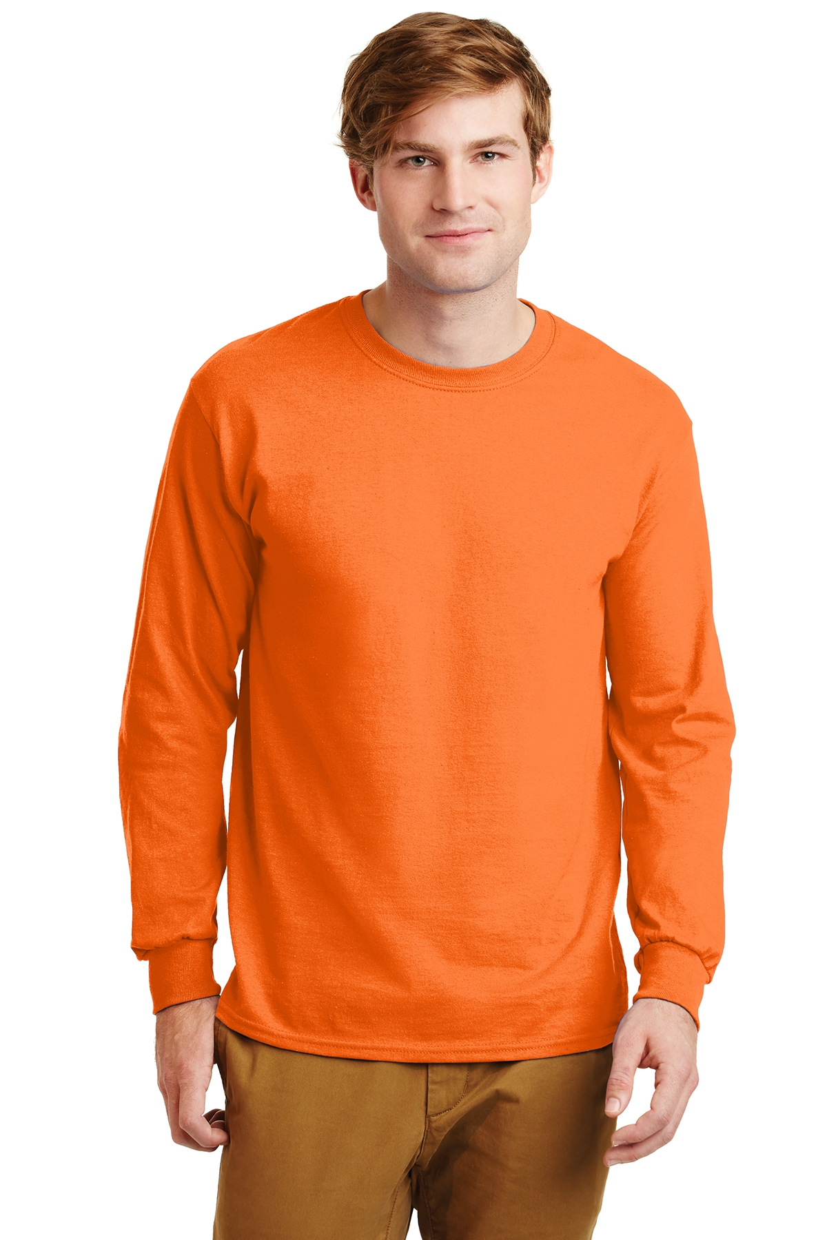 MLAG240LS-ALLG-Ultra Cotton® 100% Cotton Long Sleeve T-Shirt