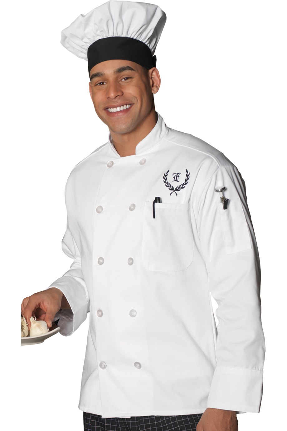 MLE3301 - Mens Long Sleeve Chef Coat