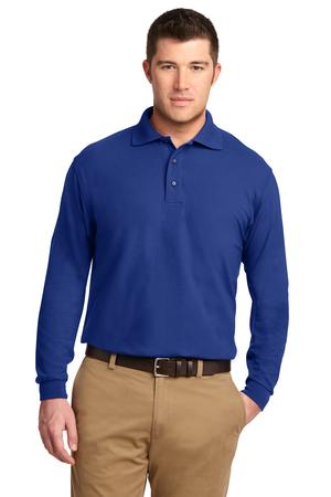 MLK500LS- FKEY- Mens Long Sleeve Polo
