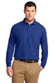 MLK500LS- FKEY- Mens Long Sleeve Polo - MLK500LS-FKEY-XSM-