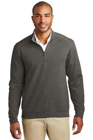 MLK807-CHART- Mens Cardigan Sweater  Interlock  pull over Interlock 1/4-Zip