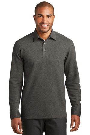 MLK808-CHART- Mens Cardigan Sweater  Interlock Polo pull over