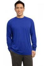 MLPST700LS-FKey -Long Sleeve Ultimate Performance Crew T-Shirt -XSM - 4XL