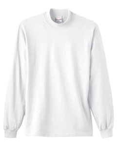 MLPC61M - SPG - Unisex Long Sleeve Mock Turtle Neck