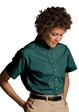 LHE5230-GP - Ladies Short Sleeve Poplin Shirt XXS - XL - LHE5230-GPXSM-