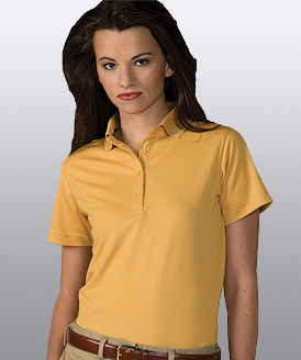 LHE5576 -  Ladies Dry Mesh HI Performance POLO; Sizes XXSMALL - 3XL