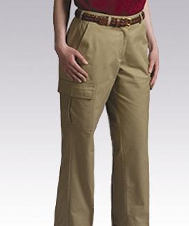 LPFE8568-GP - Ladies Cargo Pant; Sizes 0 - 18 Missy; 18W - 28W Womens Plus