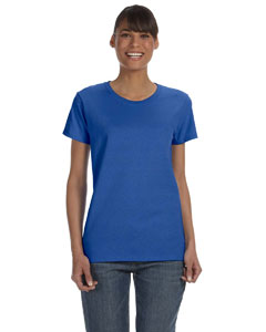 LHAG500L- Ladies 5.3 0z Heavy Cotton Missy Fit T-Shirt