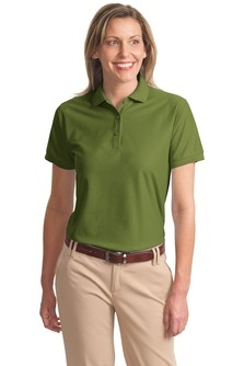 LHP500- Ladies Silk Touch Polo Shirt