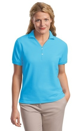 LHP448 - Ladies Honey Comb Knit Polo