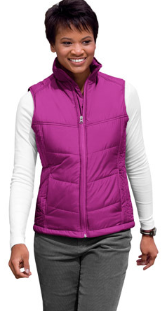 LVPJ709 - Ladies Puffy Vest