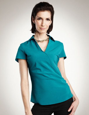 LHTMLB753 - Ladies Easy Care Woven Shirt