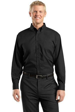 MLRH37 - PRM - Mens Nailhead Long Sleeve Button-Down
