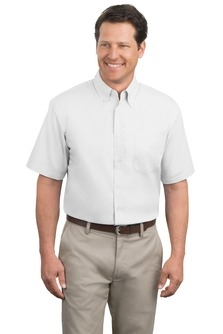 MHKP508- SB- Mens Short Sleeve Button Down