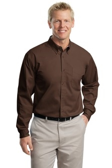 MLP608 - Mens Long Sleeve Wrinkle Resistent Button Down