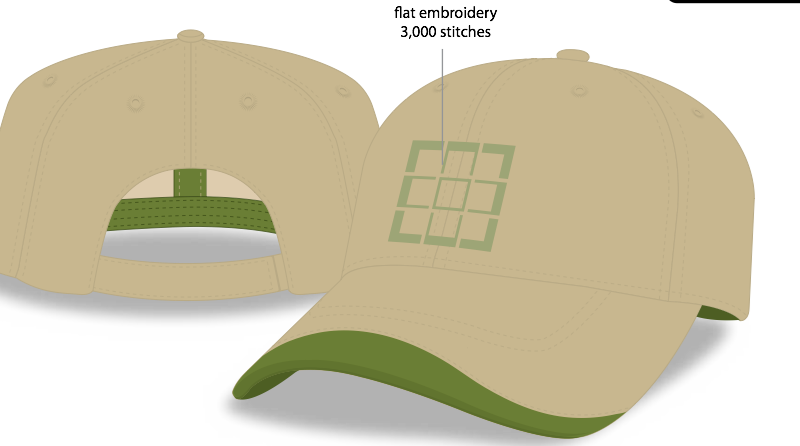 I5035-SPG NEW HAT - 6 Panel Unconstructed Hat