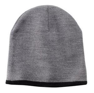 CP91-BEANIE CAP WITH ACCENT TRIM