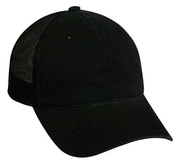 CFWT-130 - Heavy Garment Washed Mesh Back Cap