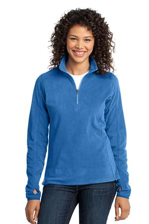 LJPL224 - Ladies 1/2 Zipper Micro Fleece