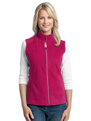 LVPL103 - Ladies Activo Micro Fleece Vest