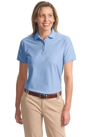 LHP500- MCRT - Ladies Silk Touch Polo