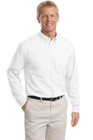 MLP608T - ALL - Mens Tall Sizes Long Sleeve Wrinkle Resistent Button Down
