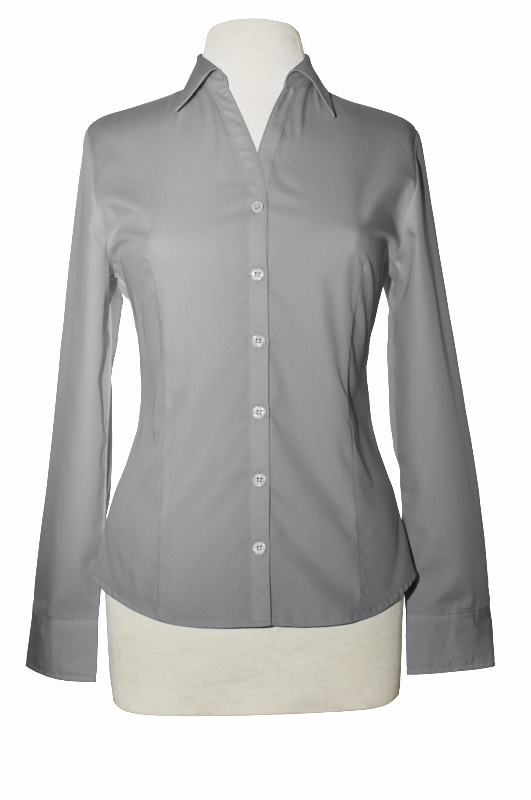 LL900M  - NE - Ladies Wrinkle Resistant Long Sleeve Button Up